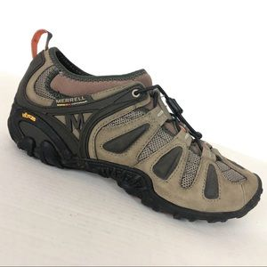 MERRELL // mens size 9.5 hiking boot shoes leather